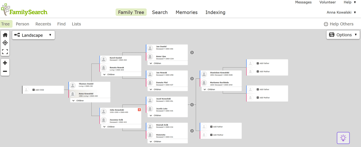 Genealogy portals and programs - where to build your family