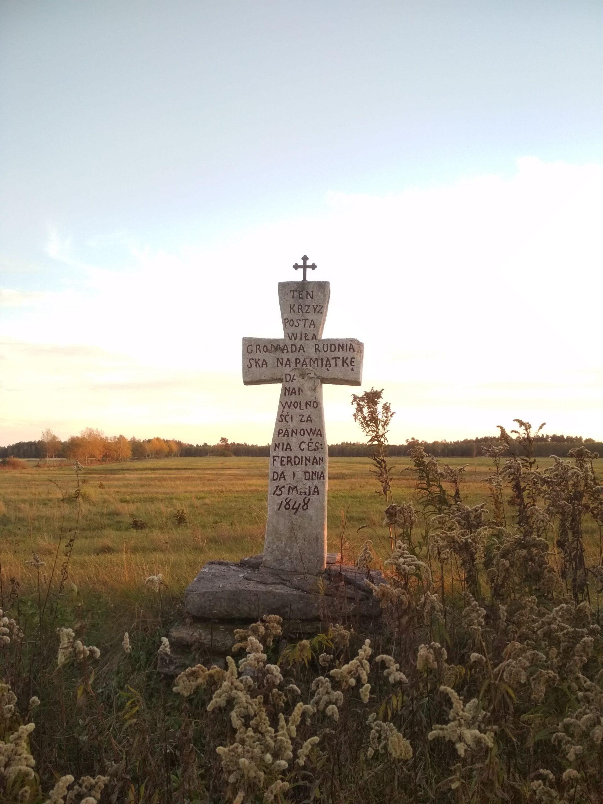 Krzyż pańszczyźniany your roots in poland