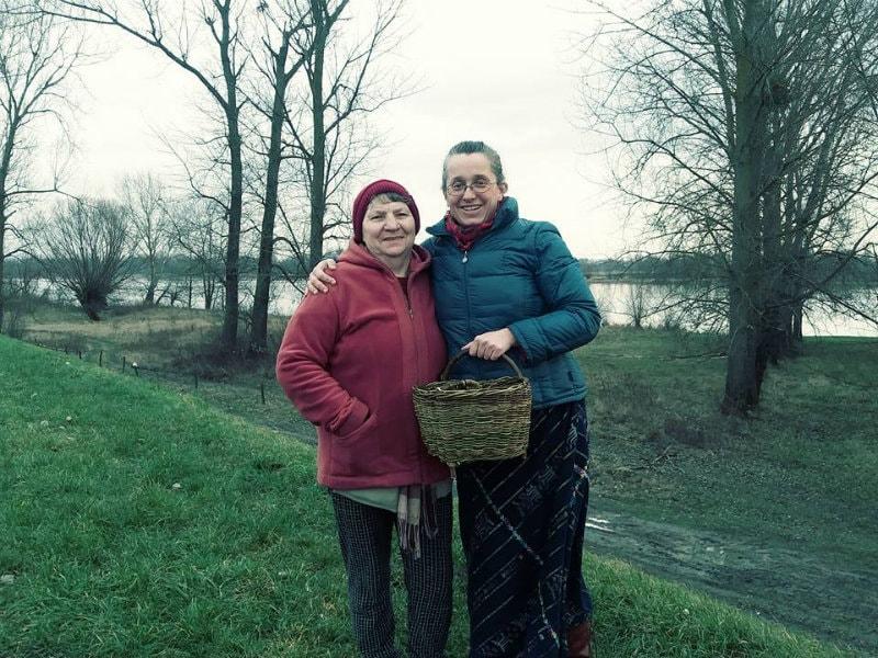 Ania Palińska and Ms Todzia